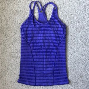 Zella workout top with built in sports bra